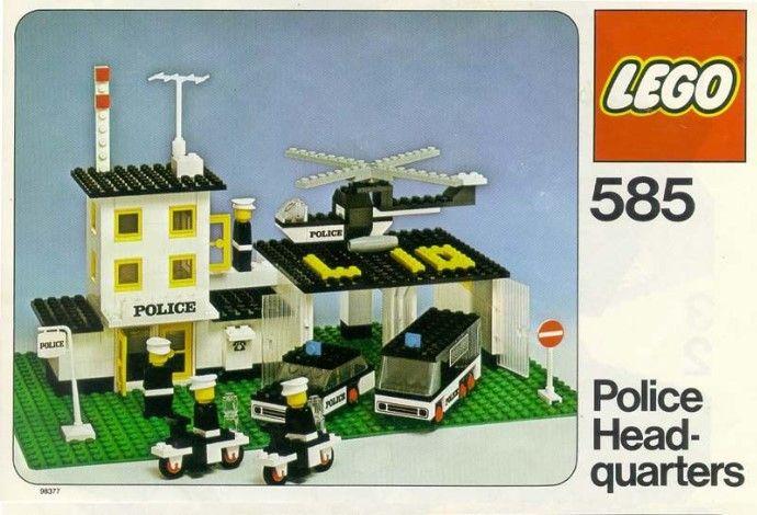 Sets Sets 585PoliceClassic Et Lego Lego Lego 585PoliceClassic Et Et 585PoliceClassic 4j3R5qcAL
