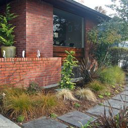 landscape mid century modern garden design pictures remodel decor and ideas page