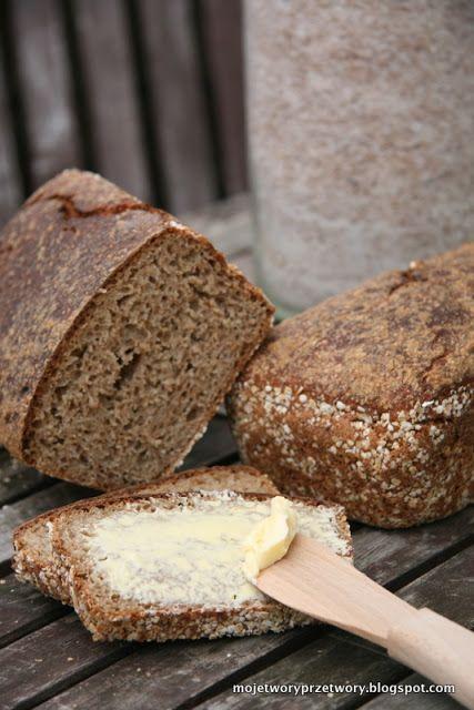 MojeTworyPrzetwory: chleb