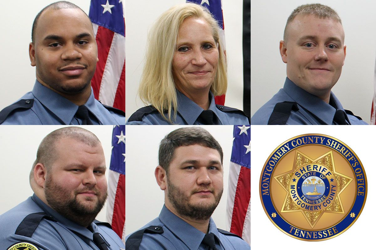 Montgomery County Sheriff S Office Has Five Graduate From Jail Field Training Officers Program Montgomery County County Sheriffs Montgomery