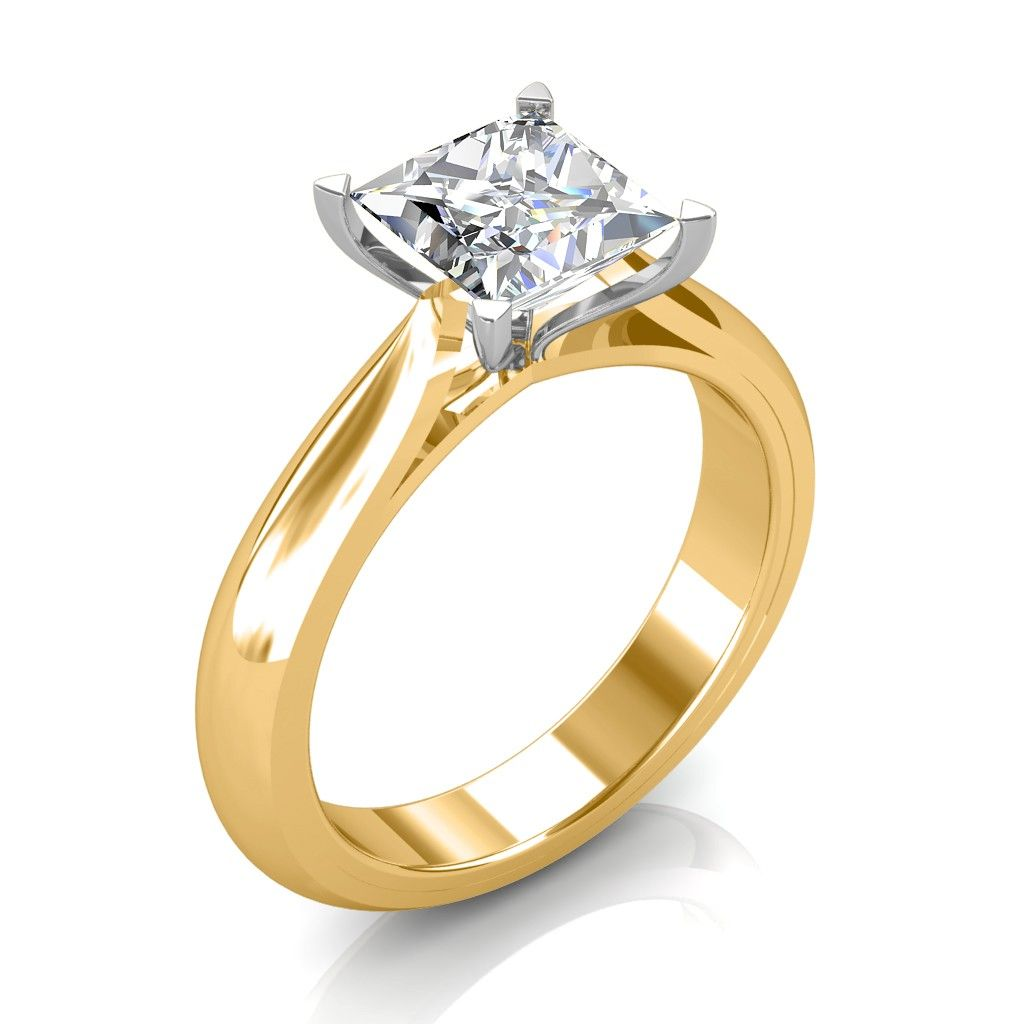 The Serenity Solitaire Ring Engagement Rings Womens Engagement Rings Bespoke Engagement Ring Classic Engagement Rings