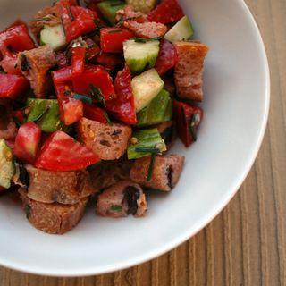 nommers | Italian recipes, Bread salad, Italian bread salad