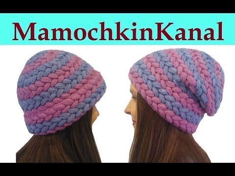 Crochet Braid Puff Stitch Slouch Hat Free Pattern [Video ...