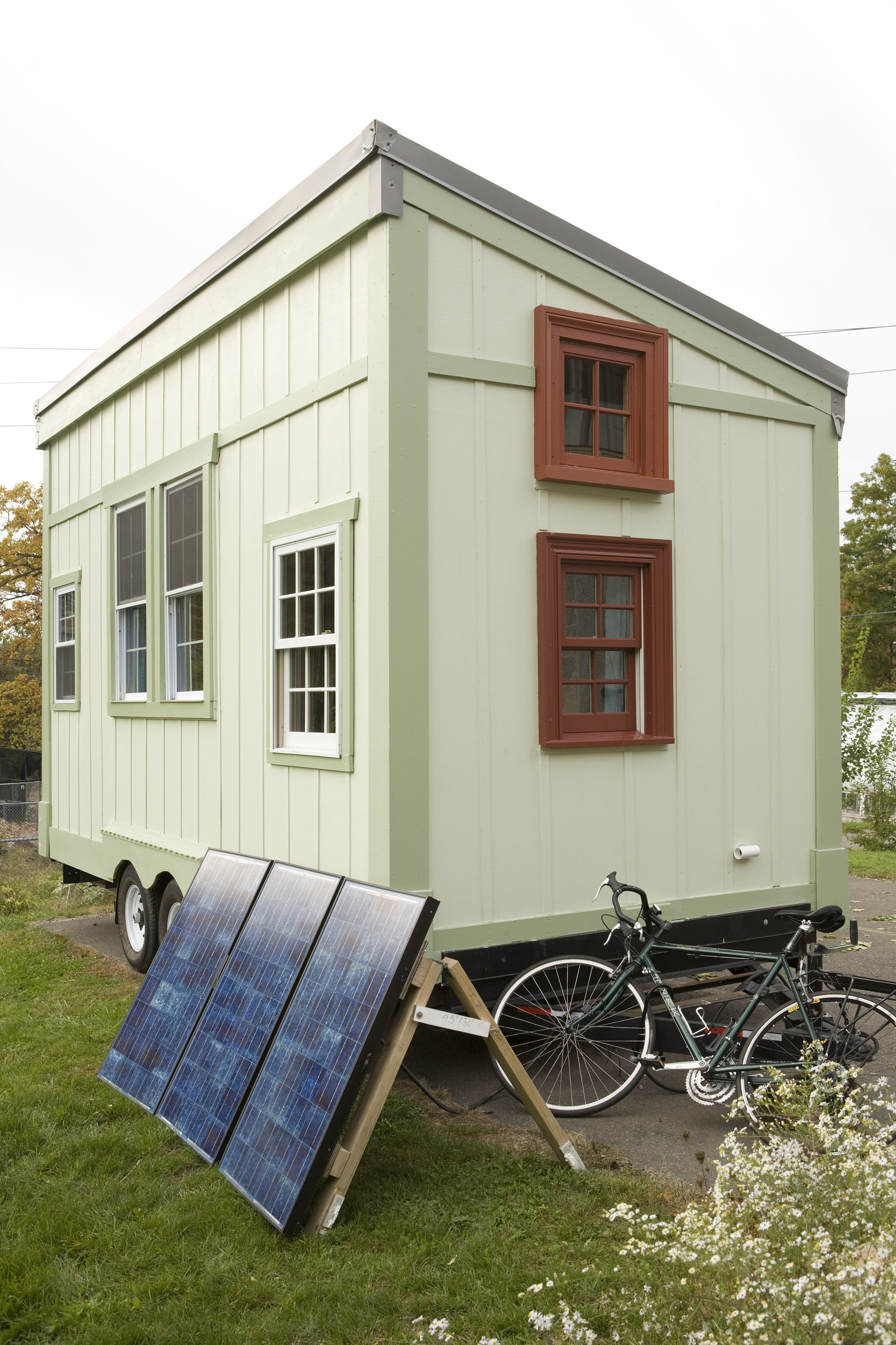 Tiny Home Designs: Self Built Tiny House