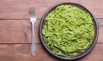 meal prep espaguetis espinacas