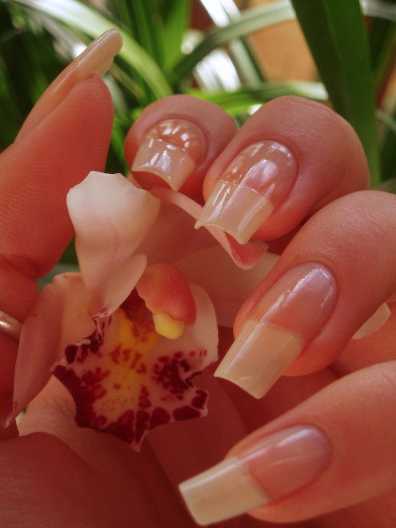 Long natural nail blog | my natural nails3 by ~Tartofraises on ...