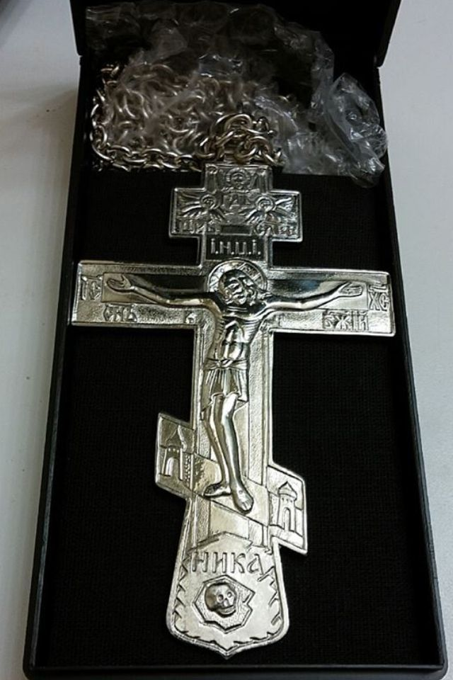Russian Orthodox Cross Matters Of Faith Pinterest Russian
