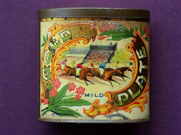 Poke your eye out tobacco tins - Advertising Antiques & OldShopStuff.com Home - Forum - Collecting Enamel Signs Forums - Tobacciana & Smoking Collectables Forum