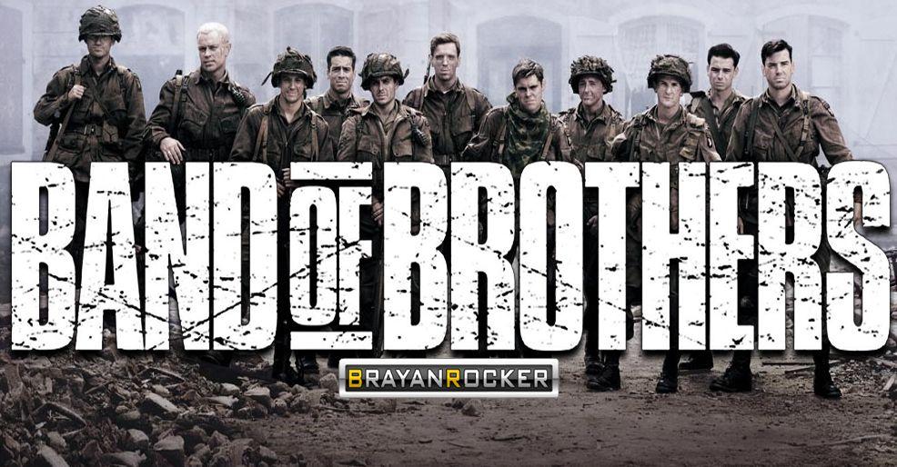 Serie De Tv Band Of Brothers En Hd Latino Mega1link Banda De Hermanos Hermandad En La Trinchera Latinas
