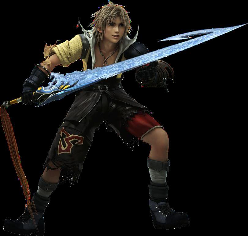 Tidus X Circa Dissidia Final Fantasy X Final Fantasy Characters Final Fantasy Art