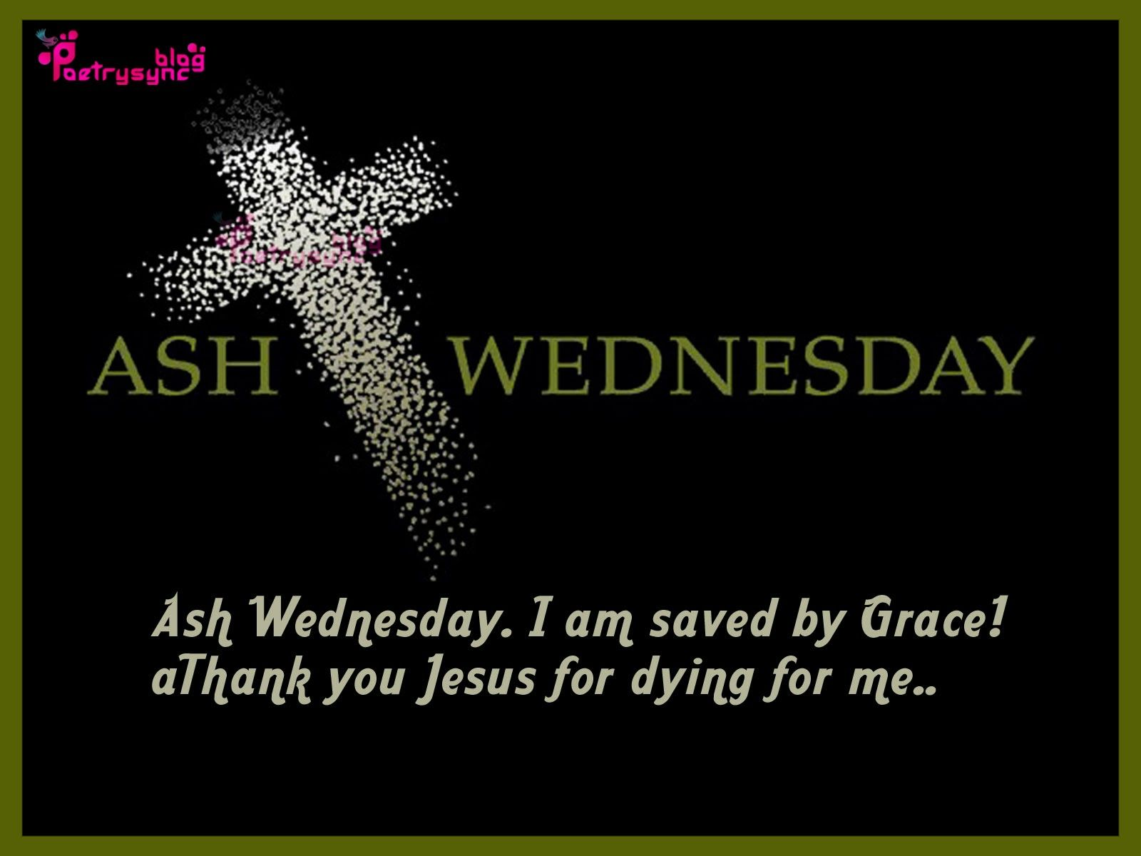 Ash Wednesday Wishes And Greetings Picture And Image With