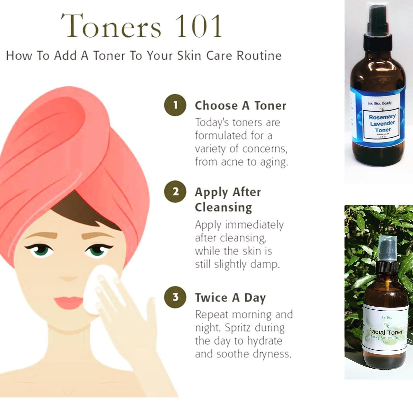 If You Wear Makeup You Need To Use Toner After Washing Your Face But Before Using Your Serum Or Moisturize Makeup You Need Toner For Face Natural Skin Care