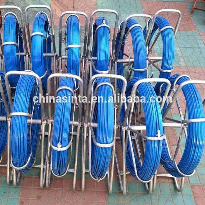 6mm 100m Flexible fiberglass duct rod/Cobra conduit rod | cable ...