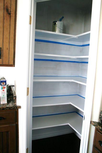 Diy Small Pantry Shelving Ideas Google Search Pantry Remodel Pantry Makeover Pantry Shelving