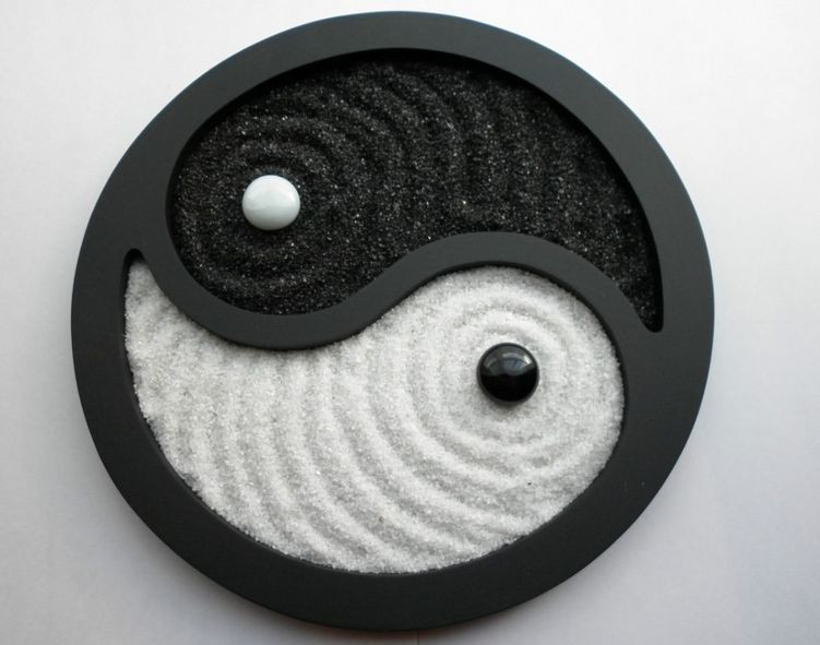 zen garden yin and yang wing tsun garten pinterest. Black Bedroom Furniture Sets. Home Design Ideas
