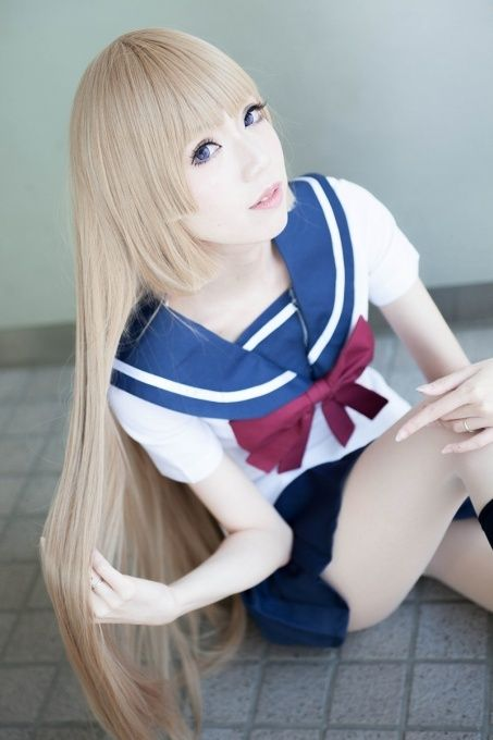 Aika Fuwa from Zetsuen no Tempest. Cosplayer: Alice