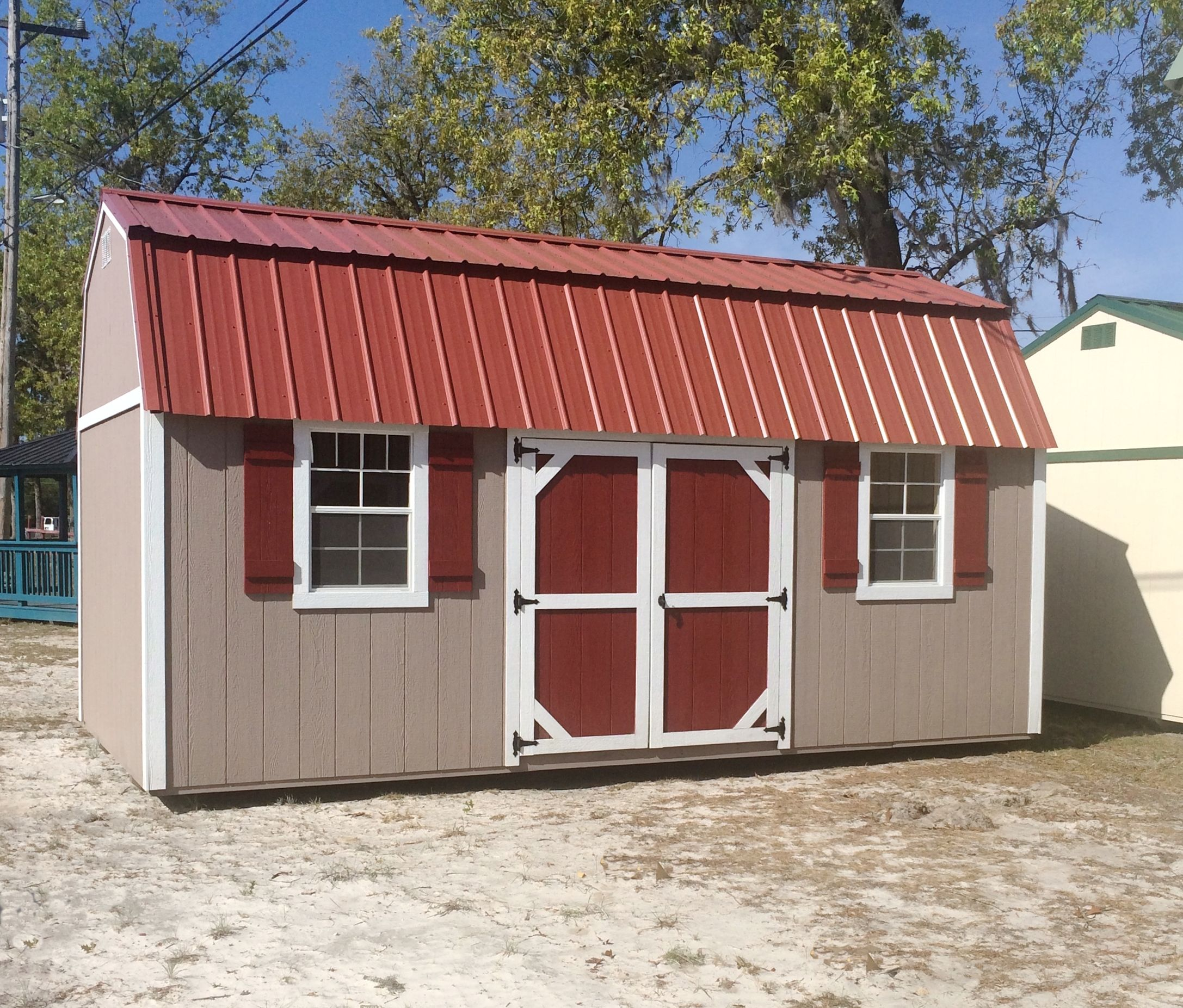 Coastal Portable Buildings Side Lofted Barn 10x20 with
