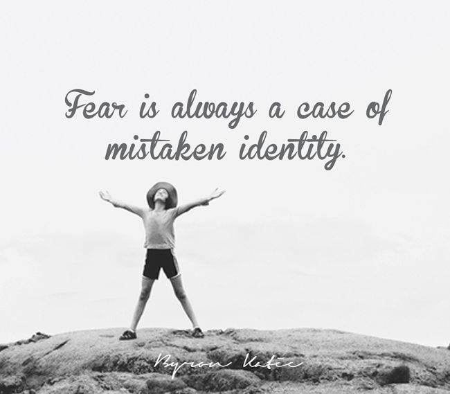 Byron Katie Quotes Case Of Mistaken Identity Quotes  Wisdom In Words  Pinterest .