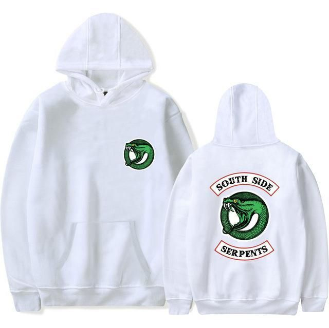 In New Riverdale Hoodies Pullovers Tops Plus Size South Side Serpents Streetwear Women Long Sleeve Hoodie Sweatshirt Casual Hooded Fashionable Style;