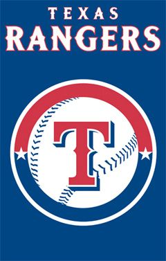 Texas Rangers Official Team Applique Banner Party Animal Texas Rangers Texas Rangers Logo Texas