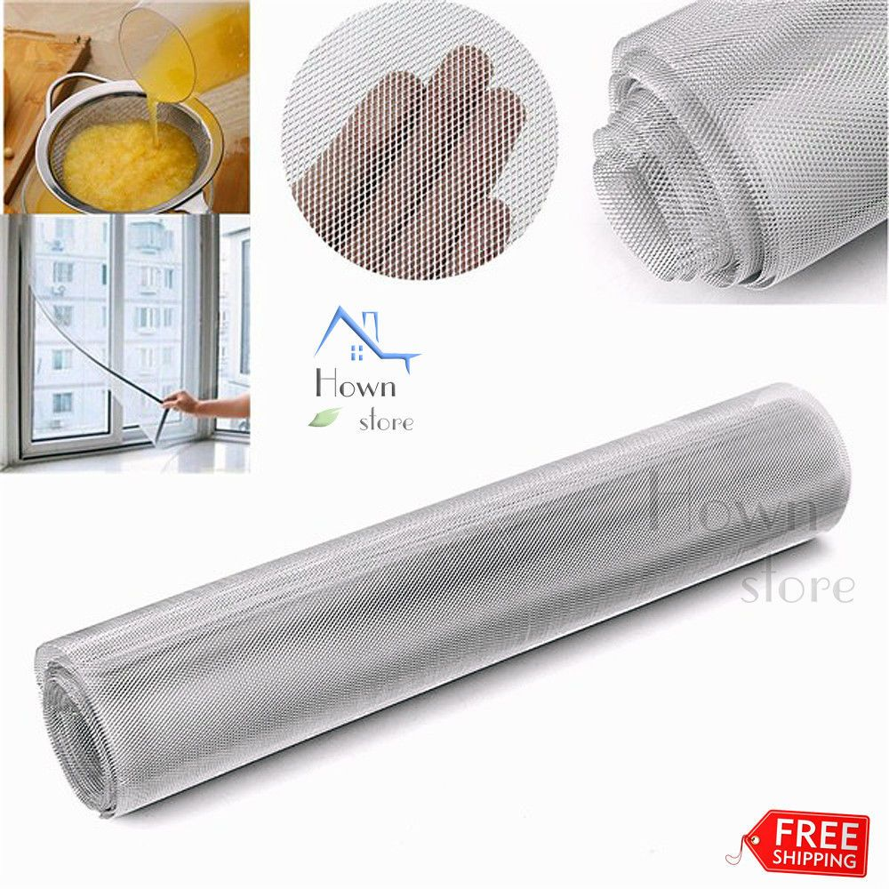 mesh alloy aluminium wire roll hardware cloth mod air filter modeling diy