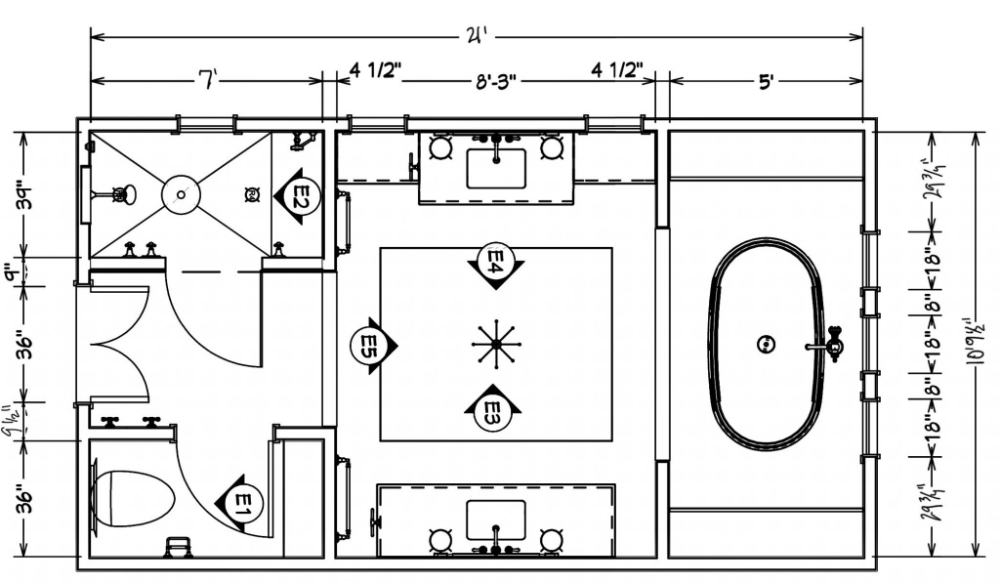 Our New Bathroom Plans Layout And Our Trip To Unforgettable Kohler Wisconsin In 2020 Bathroom Plans Beautiful Bathroom Renovations Master Bathroom Renovation