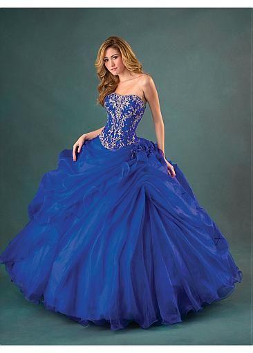 robe longue princesse bleu et dor e robe princesse pinterest robe de bal robes et robe de. Black Bedroom Furniture Sets. Home Design Ideas