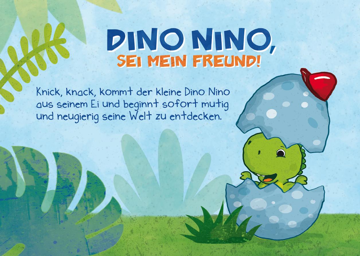Dino Nino Buch Lesen Kinder Dinosaurier Dino Books