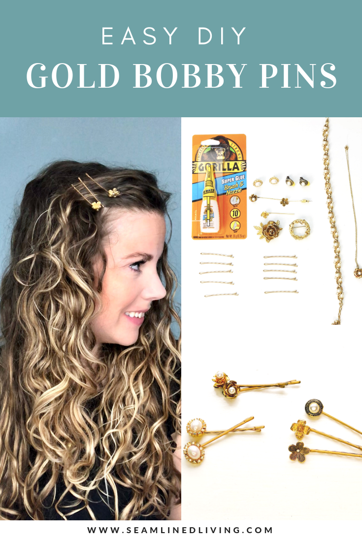 How To Decorate Bobby Pins With Vintage Jewelry Seamlined Living
