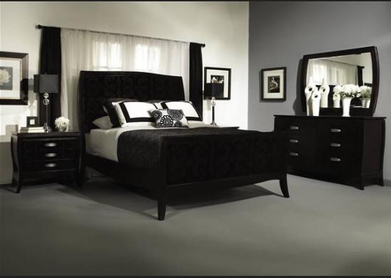 Black Distressed Bedroom Furniture