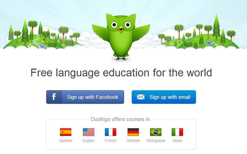 Great site for learning languages, mobile
