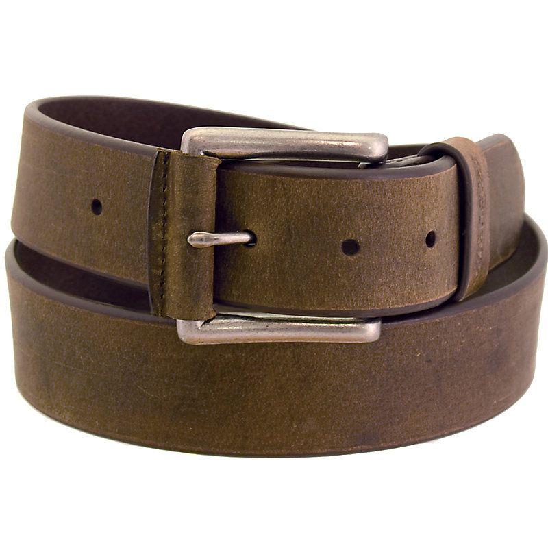 Wrangler Men's RW Belt Nickle Buckle (Size: 40) | Tan