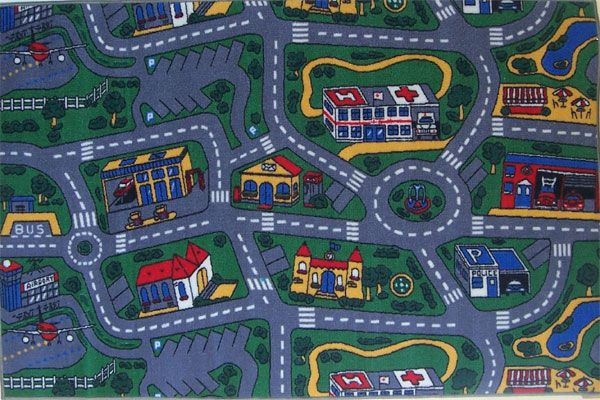 car carpet city my son spent hours using this with his miniature
