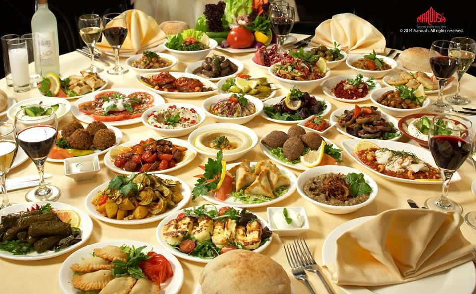 A Selection Of The Wonderful Arabic Halal Food That We Get From Our Partner In London Maroush Lebanese Recipes Mediterranean Cuisine Armenian Recipes