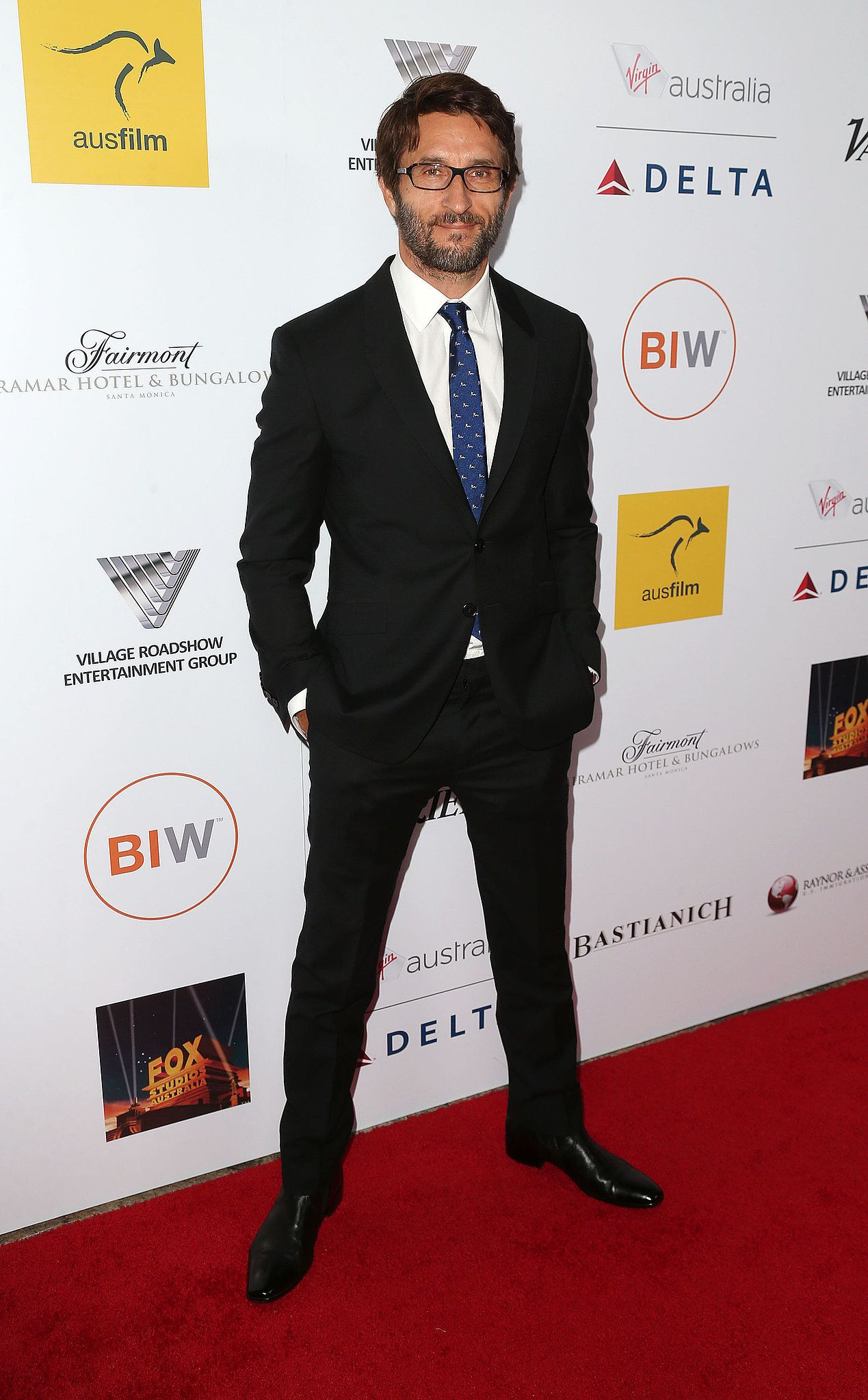 Jonathan LaPaglia at the 2014 Australians in Film gala dinner in LA.