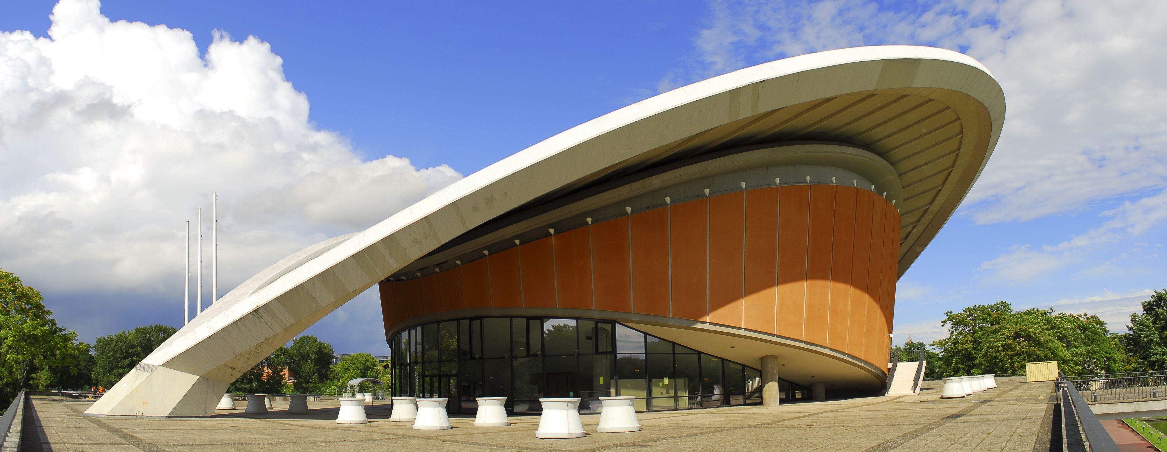 Haus Der Kulturen Der Welt Haus Building Architecture