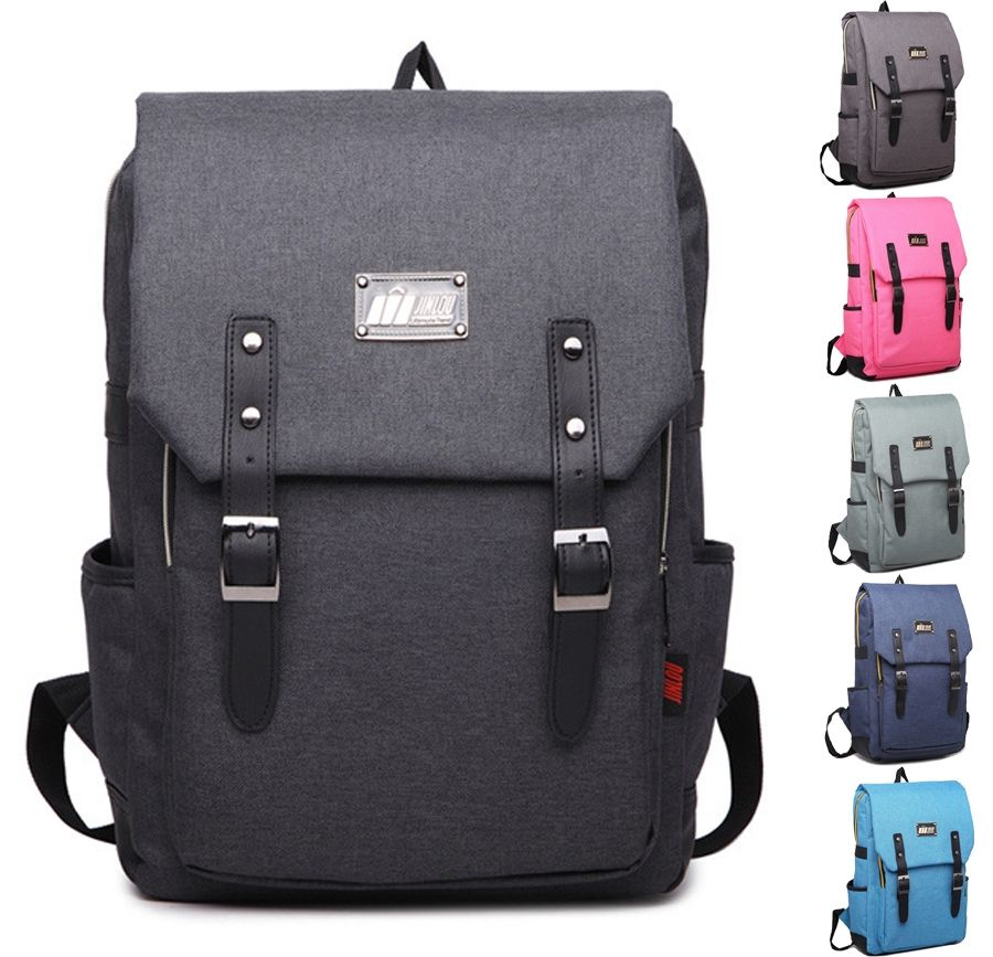 14 15 15.6 Inch Waterproof Nylon Computer Laptop Notebook Backpack Bags Case  School Backpack for Men a71c35f64defe