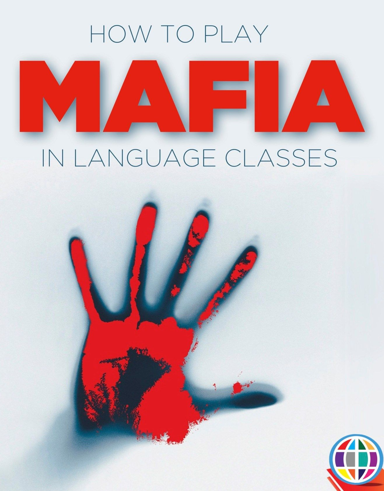 Game Mafia roleplaying game for language classes World