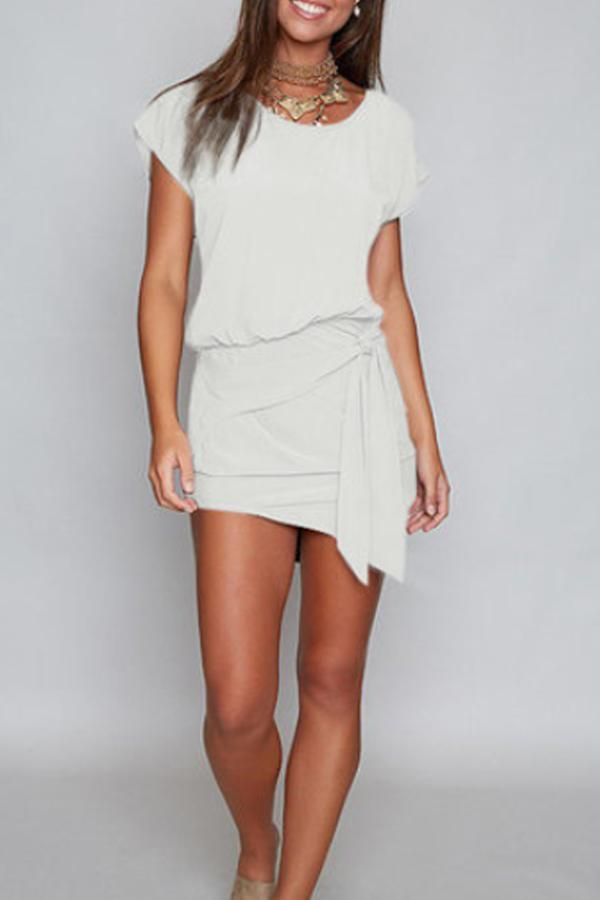 Oh polly first date ruched mesh bodycon knee length dress oyster white size 12 ebay