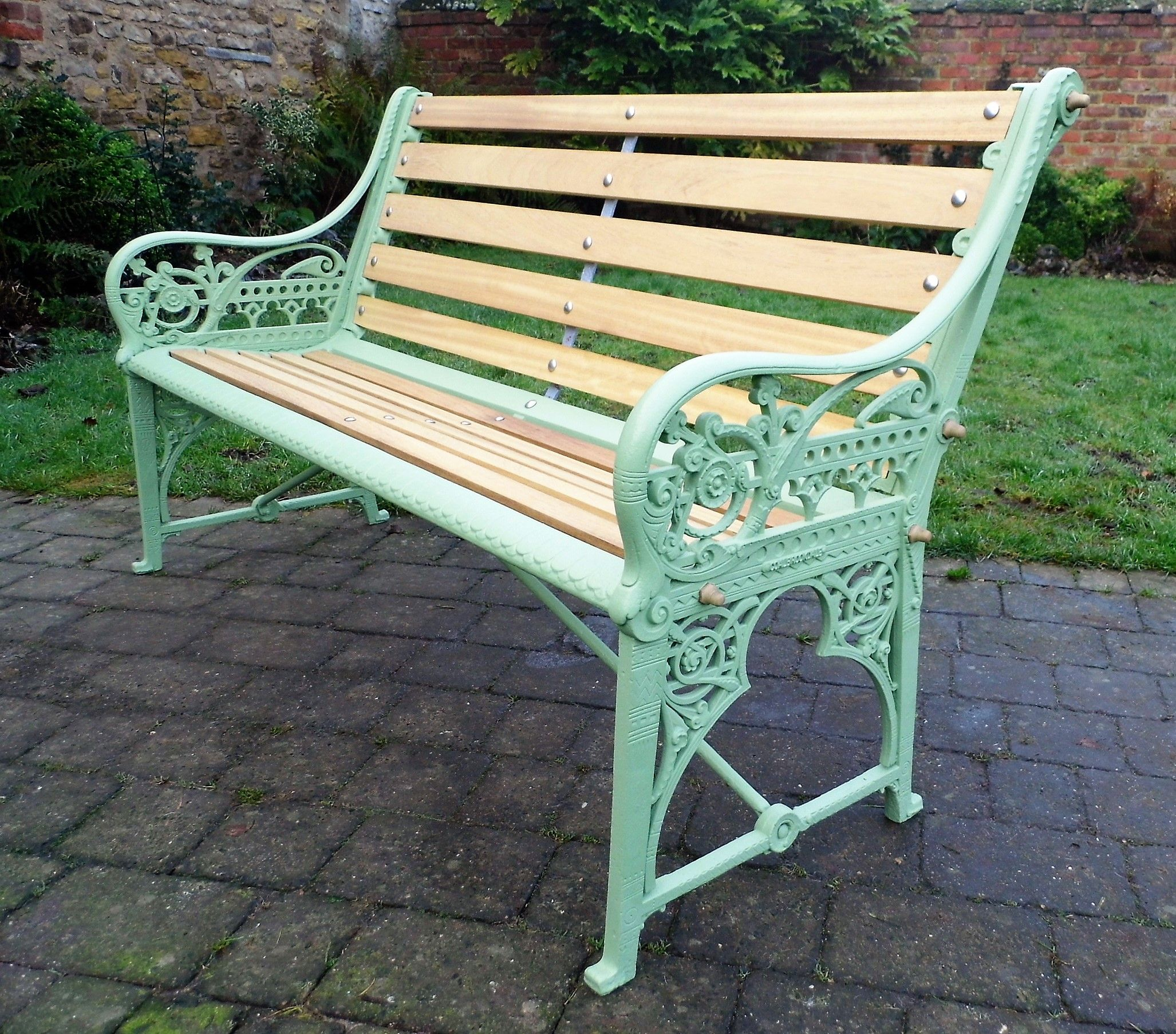 Terrific Coalbrookdale Medieval Cast Iron Bench Get In Touch For A Machost Co Dining Chair Design Ideas Machostcouk