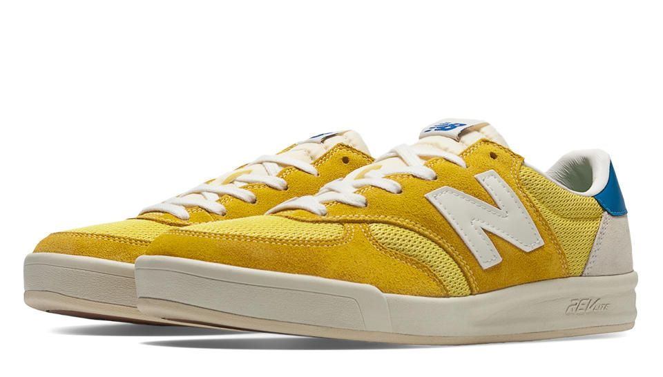 New Balance CRT300, Yellow with White | Running shoes for ...