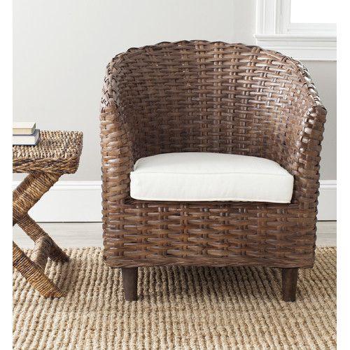 Found It At Joss Amp Main Omni Wicker Accent Chair