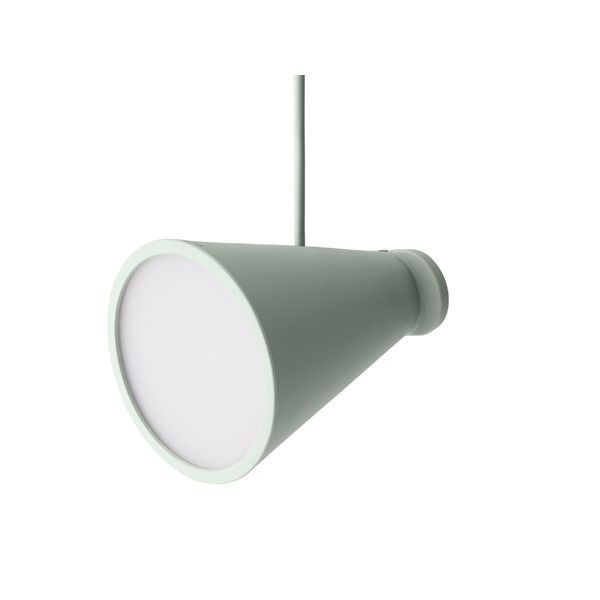 Bollard Lamp Pale Green by Shane Schneck for Menu | Lamp