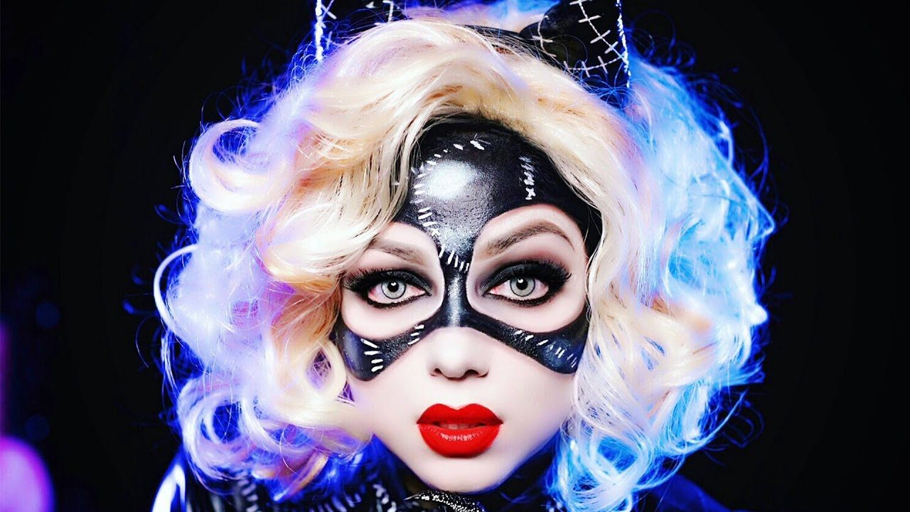 pictures Catwoman Makeup Tutorial for Halloween