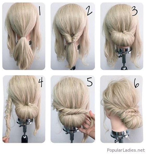 cool-messy-low-bun-tutorial | <3 Being A Girl | Pinterest | Low bun ...
