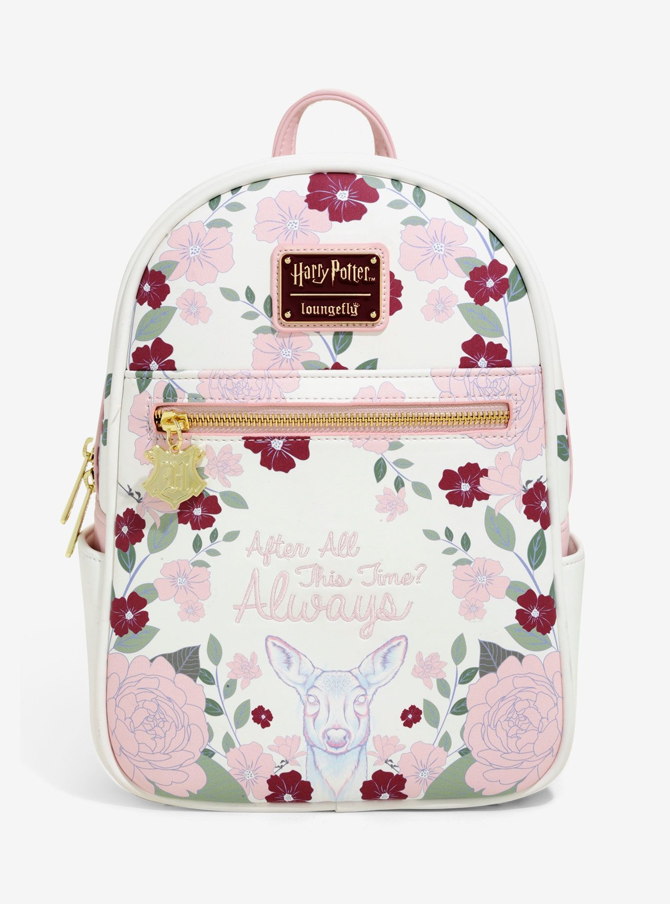 Loungefly harry potter always floral mini backpack