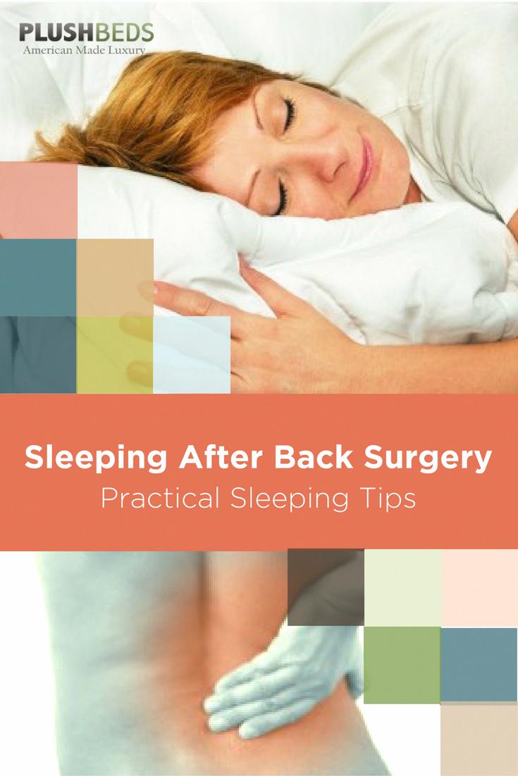 sleep after cervical neck surgery