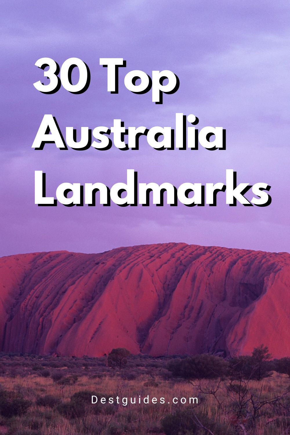 This Australia travel guide covers 30 of the most amazing Australia landmarks, such as the Sydney Opera House, the Great Barrier Reef, Uluru Rock, and more! Click through for more details.   Australia travel beautiful places bucket lists   Australia travel bucket lists   visiting Australia travel tips   Australia travel destinations   what to do in Australia   best things to do in Australia   Australia bucket List   #australia #travel #travelguide #bucketlist