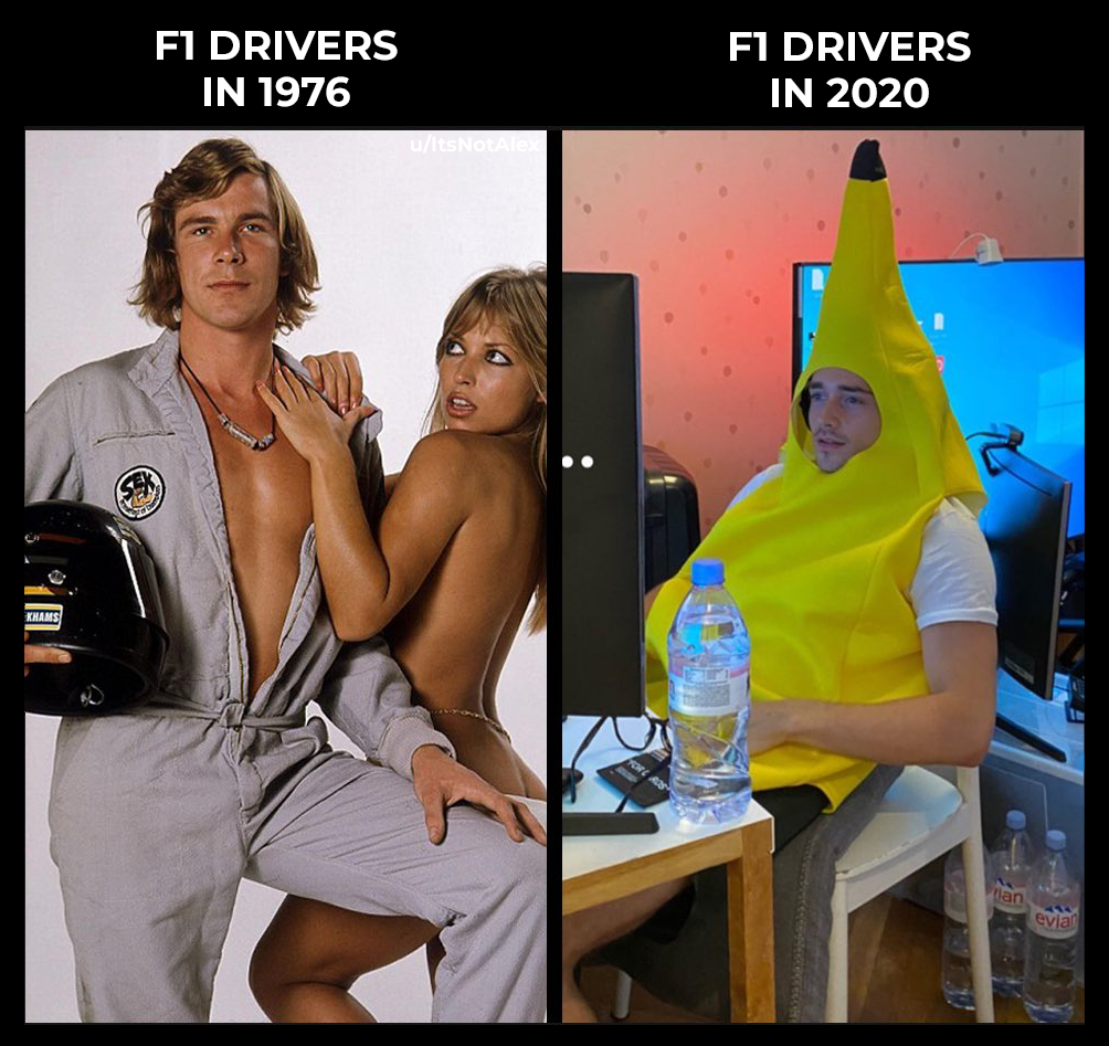 How times have changed in 2020 | Funny, Formula 1 car ...