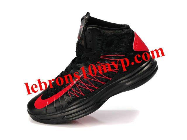 new concept b3a9e a4a29 Nike Lunar Hyperdunk X 2012 James Shoes Black Red